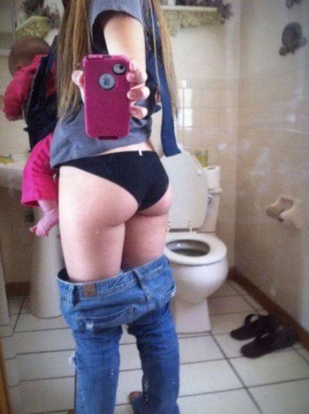 Selfie nackt arsch Gay Selfie