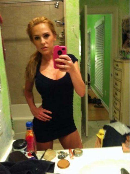Selfie im Badezimmer
