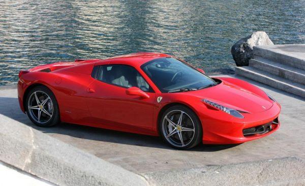 Roter Ferrari 458